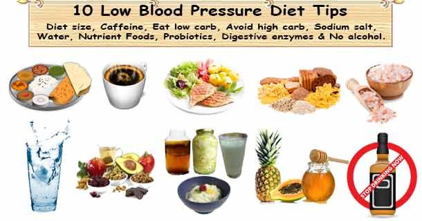 how to avoid blood pressure drops
