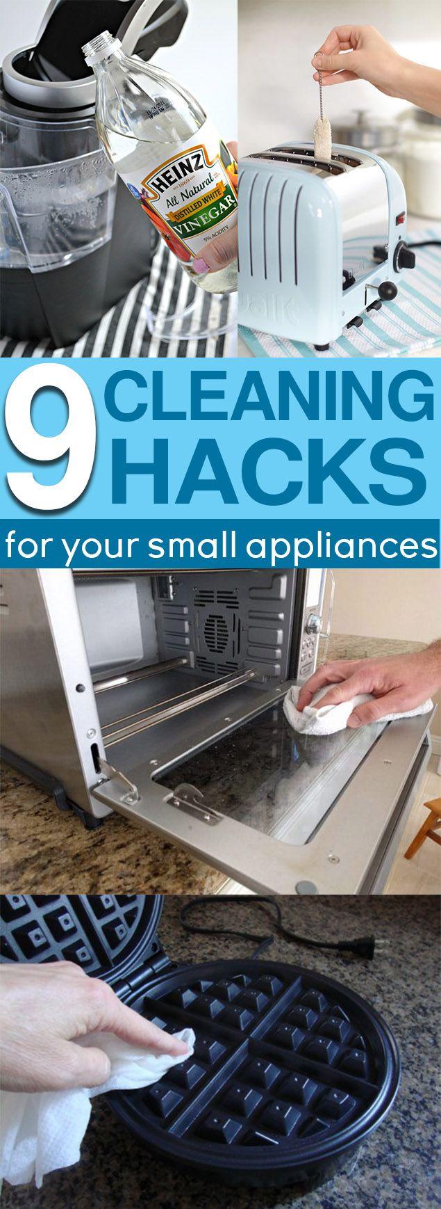 9 Cheap & Easy Ways to Clean Small Kitchen Appliances | Keurig ...