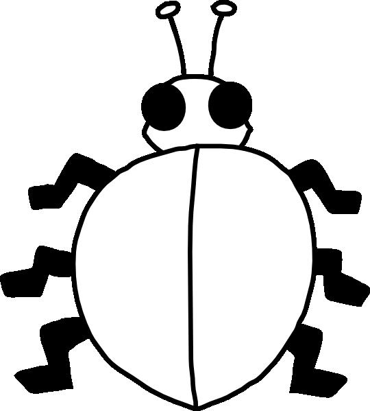 Ladybug Outline Clipart Free Images 8 Wikiclipart Ladybug Ladybug Crafts Clip Art