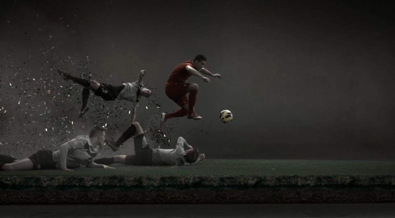 Cristiano Ronaldo Leaves a Vapor Trail Nike Viral  277f86e54