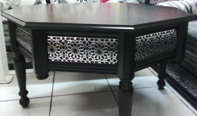 les tables en moucharabieh pour salon marocain d cor salon marocain tables salon marrocain. Black Bedroom Furniture Sets. Home Design Ideas