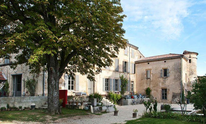 Entre Crest et Valence, la grande maison est une maison du0027hôtes de