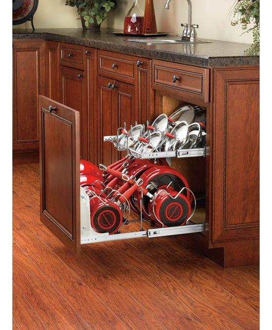 Kitchen Organization Organize Your Kitchen With The Rev A Shelf