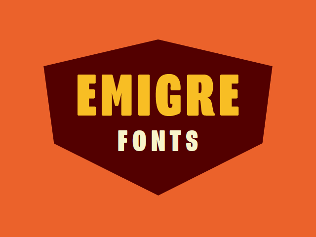 Try Emigre fonts for free. Fontstand allows trying Emigre