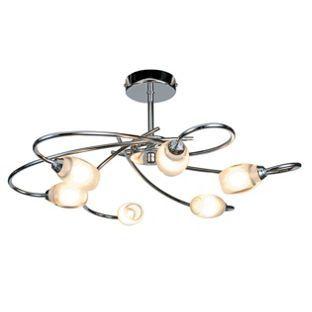 Heathcliff 6 Light Fitting Chrome From Homebase Co Uk £49 99