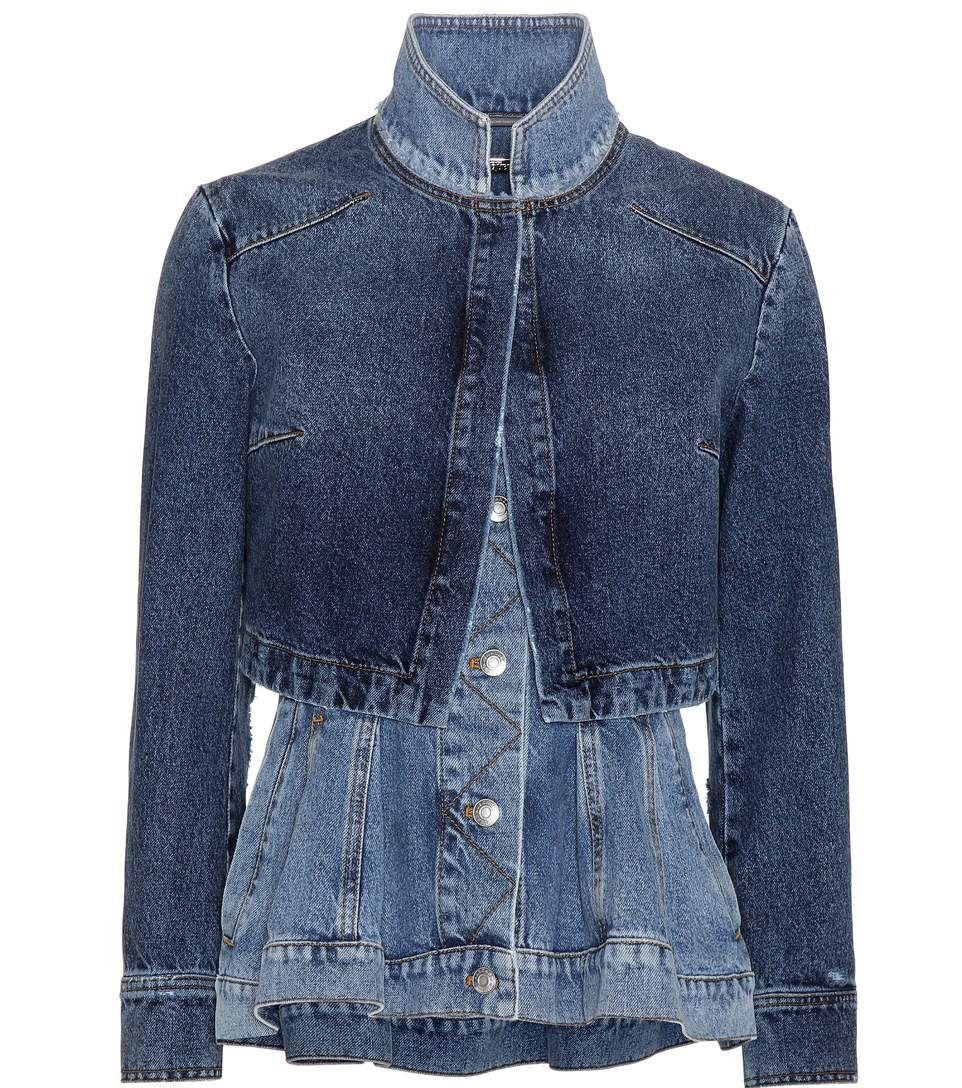 Alexander Mcqueen Denim Jacket Alexandermcqueen Cloth Current Week Denim Jacket Denim Jackets [ 1088 x 962 Pixel ]