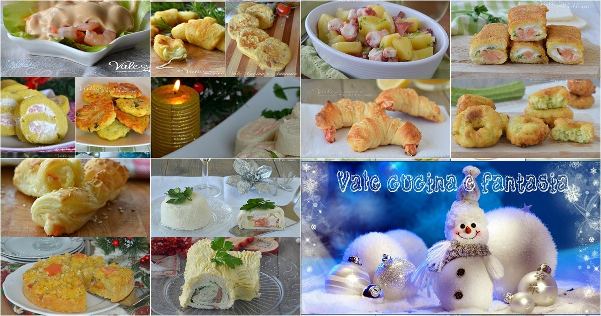 50 Antipasti Di Natale.Antipasti Per La Vigilia Di Natale 50 Ricette Veloci Ricette Ricette Facili Dolcetti Pasquali