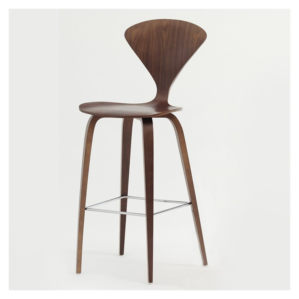 Tabouret de bar Cherner noyer