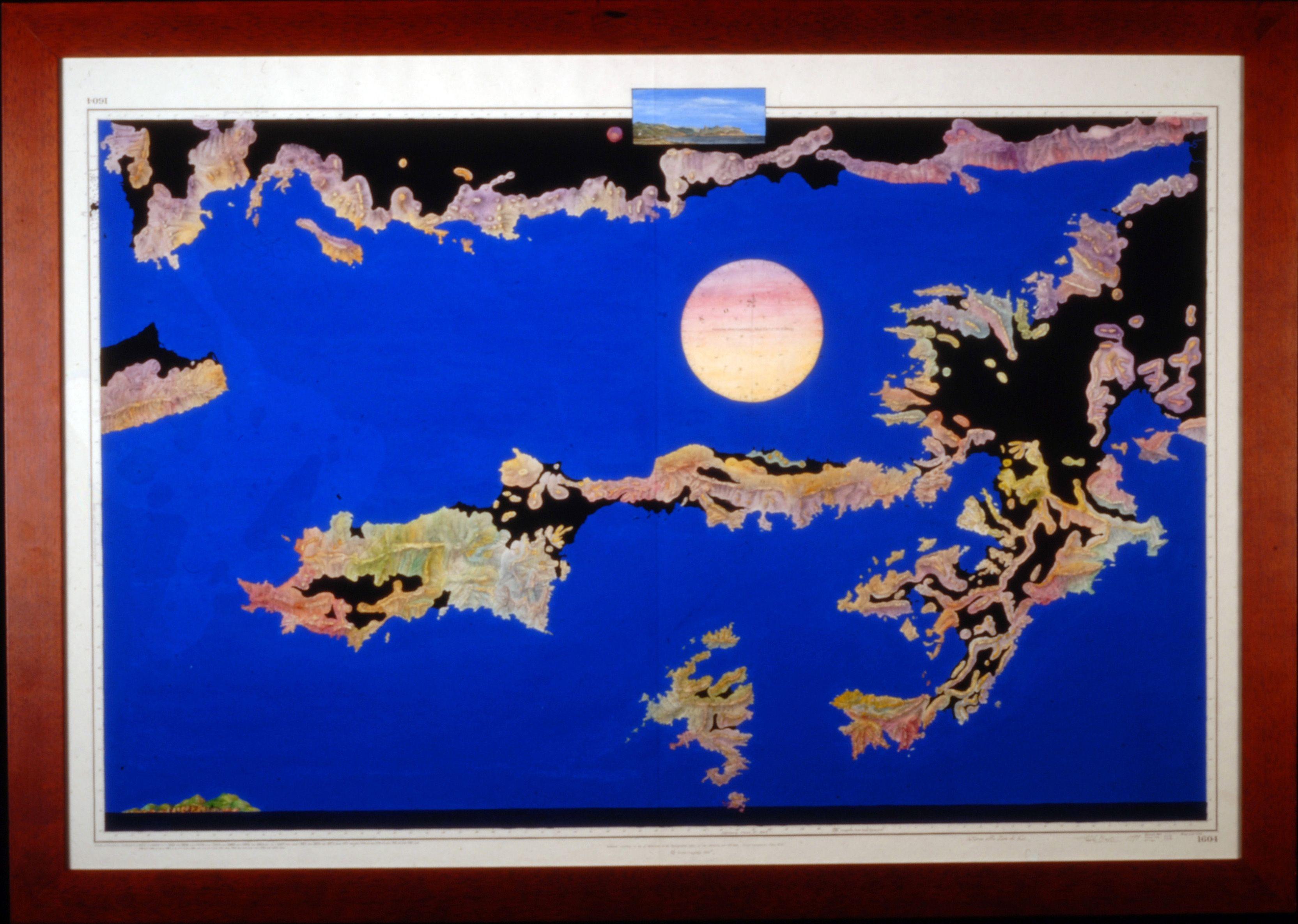 Around the Moon of Kos (Paolo Buzi, Nautical Charts 1999)