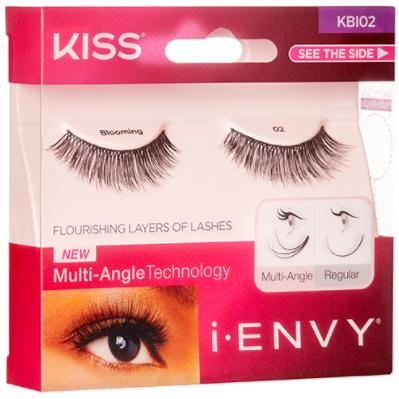 Kiss i-ENVY Flourishing Layers Of Lashes 1 Pair Pack ...