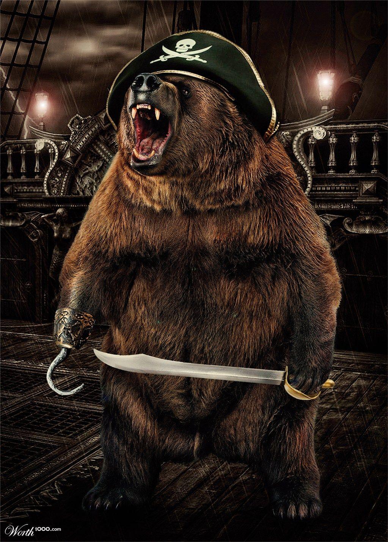 Bear Pirate gonna get ya!!!