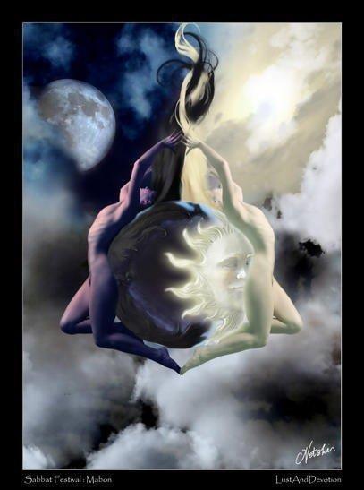 Twin Flames of Nature | Spiritual Soul Twin Flame Love | Art