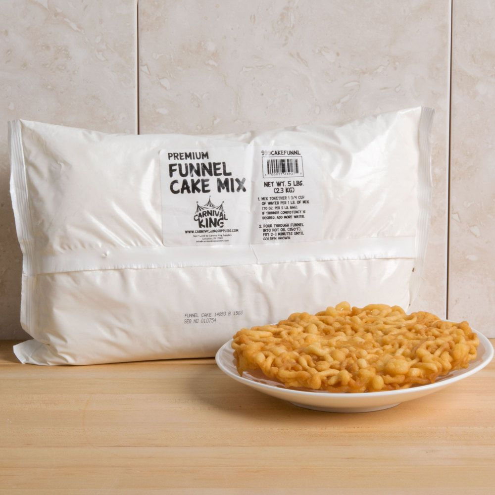 Carnival King 5 lb. Funnel Cake Mix - 6/Case