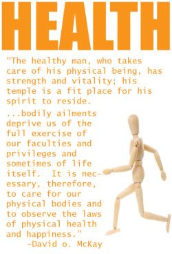 A healthy being