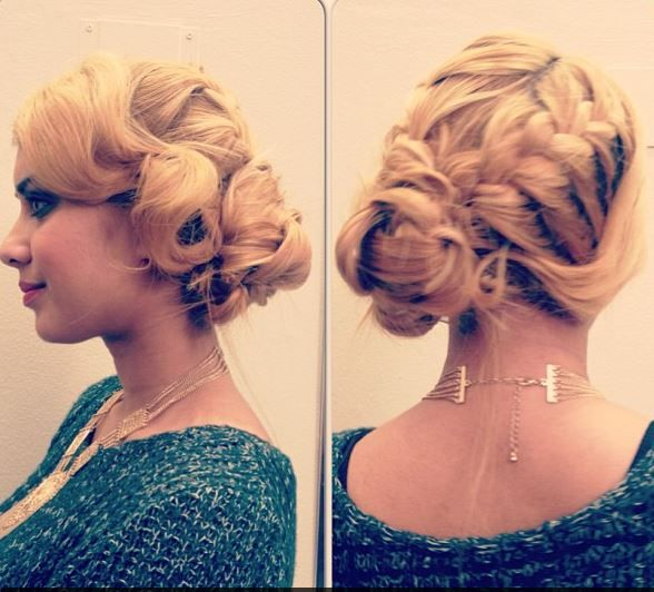 Groovy 1920S Inspired Up Do This Was Quite Easy To Copy And Was Great Hairstyle Inspiration Daily Dogsangcom