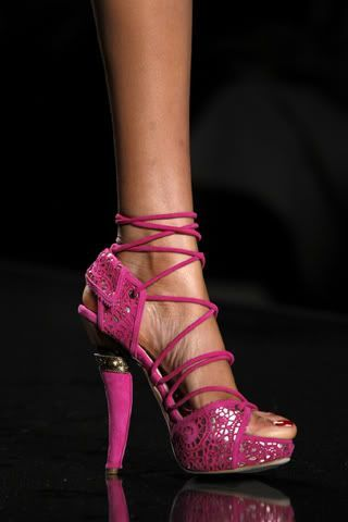 Shoes by John Galliano for Dior fashion week 2009