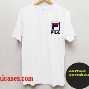 d6460d332b57 Fila Logo design T-Shirt | T-shirt | T shirt, Shirts, Sweatshirts