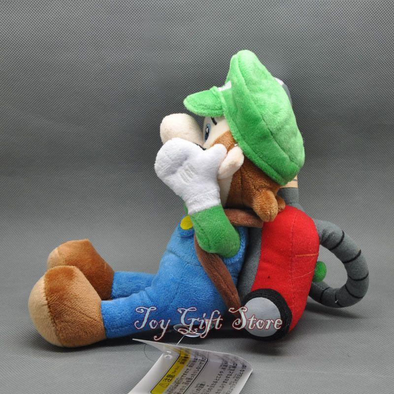 "Luigi/'s Mansion 2 w Strobe Light 7/"" Mario Plush Doll Stuffed Toy #SM"