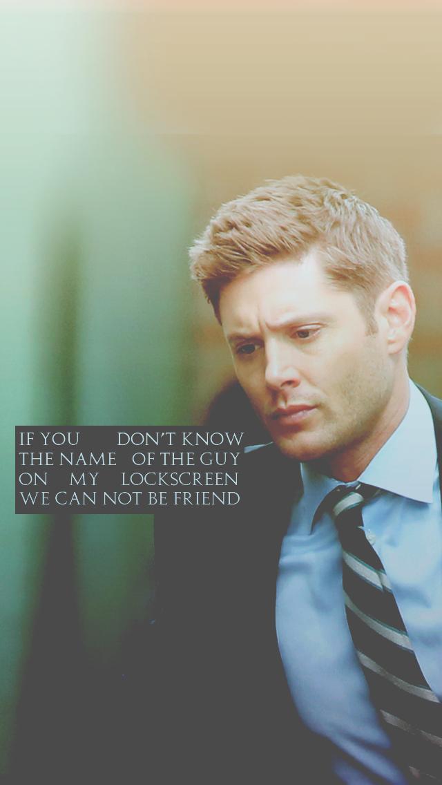 Jensen Ackles & Dean Winchester — daddyjensenross Dean