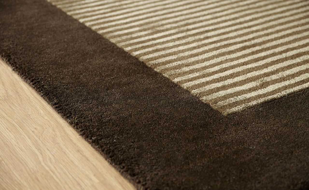 Henley Border Rug Choco Martin Phillips Carpets Martin Phillips Carpets Rugs Rugs On Carpet Border Rugs