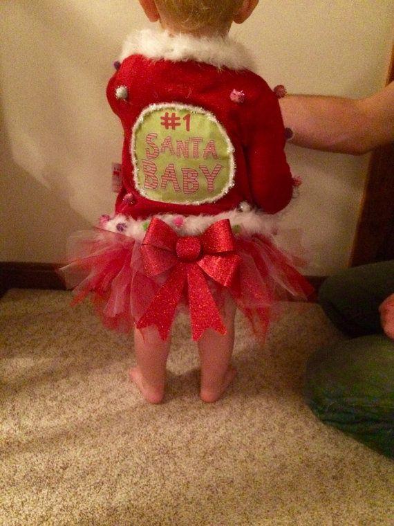1bc304968 Baby/toddler Custom Ugly Christmas Sweater by tackyuglychristmas ...