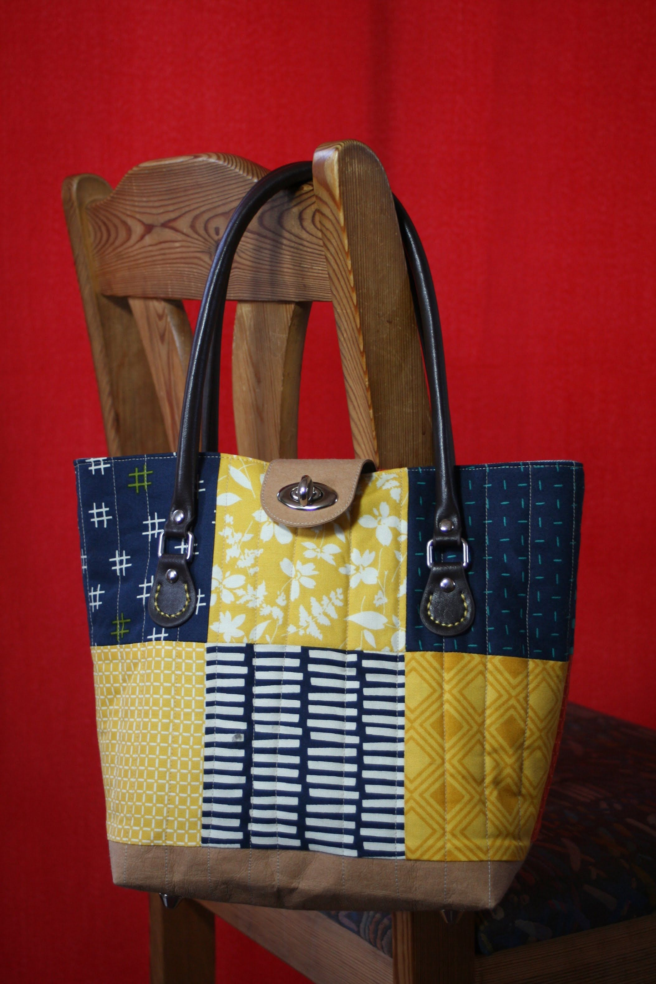 Jennys Missouri Purse mit kostenlosem Schnittmuster | Taschen ...