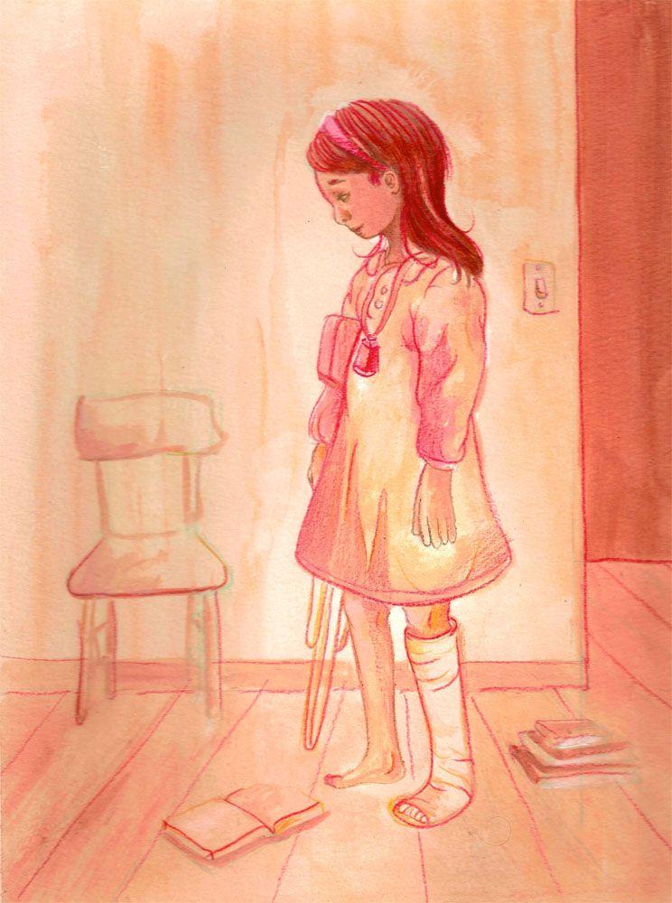 Joana teste de pintura • acrílica sobre papel