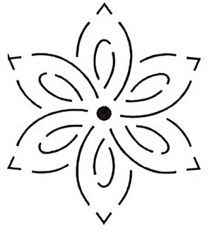 Flower Stencils Free Clipart Best Clipart Best Hand Quilting