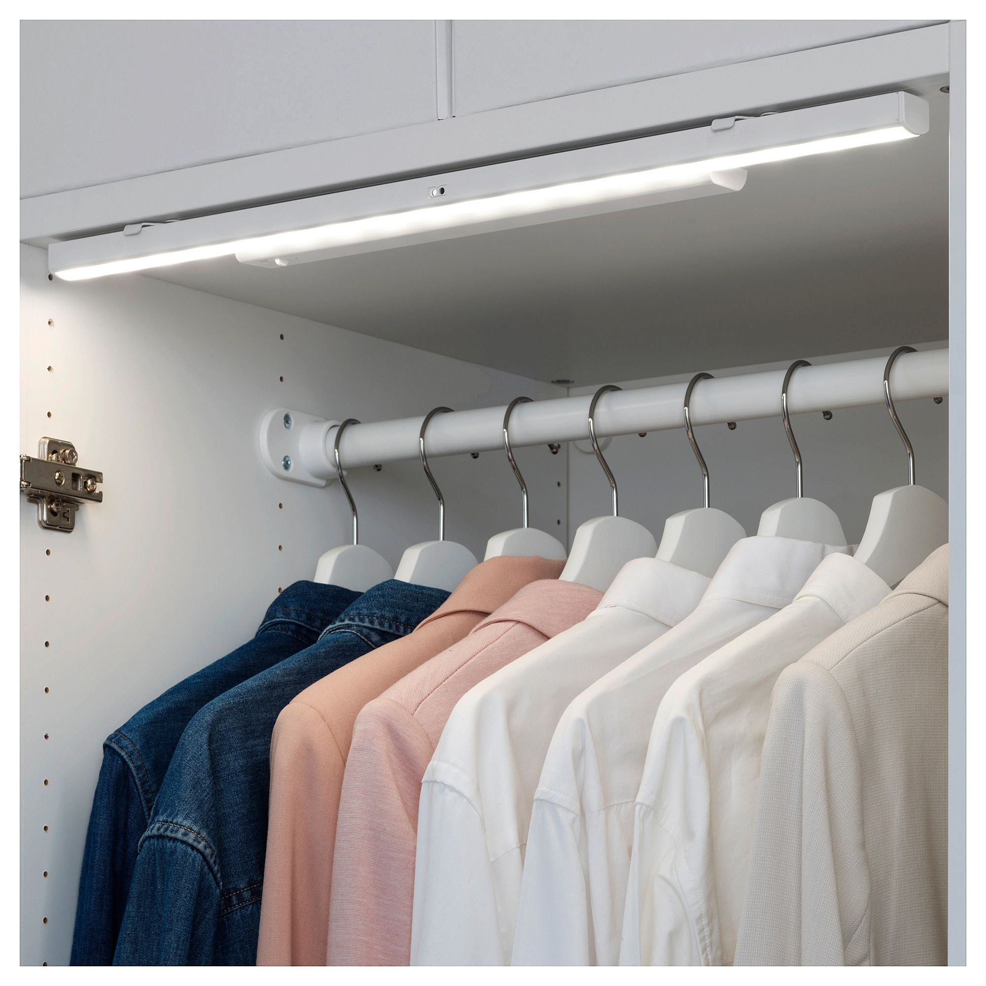 Ikea Stotta Battery Operated White Led Light Strip