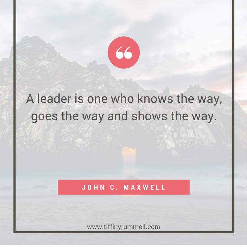 """A leader is one who knows the way, goes the way and shows the way.""-John C. Maxwell. Business and motivational quotes for online entrepreneurs, direct sales, and network marketers. Visit my site for free training to get more leads online or ""pin"" to save for later."