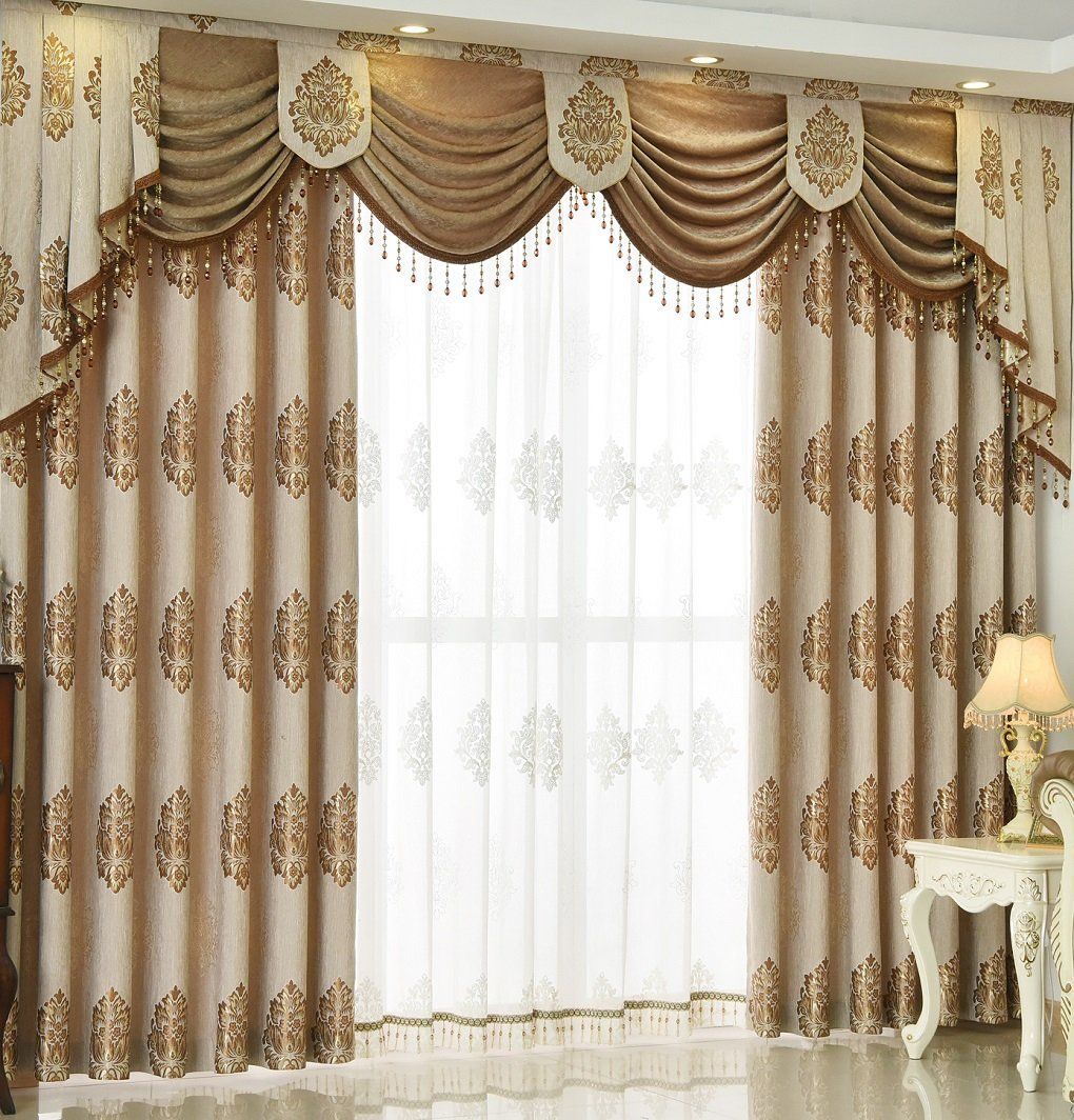 Queens House Luxury Window Curtain Living Room Drapes 52a 84 Read More Reviews Of The Product By Vis Fancy Curtains Living Room Decor Curtains Home Curtains