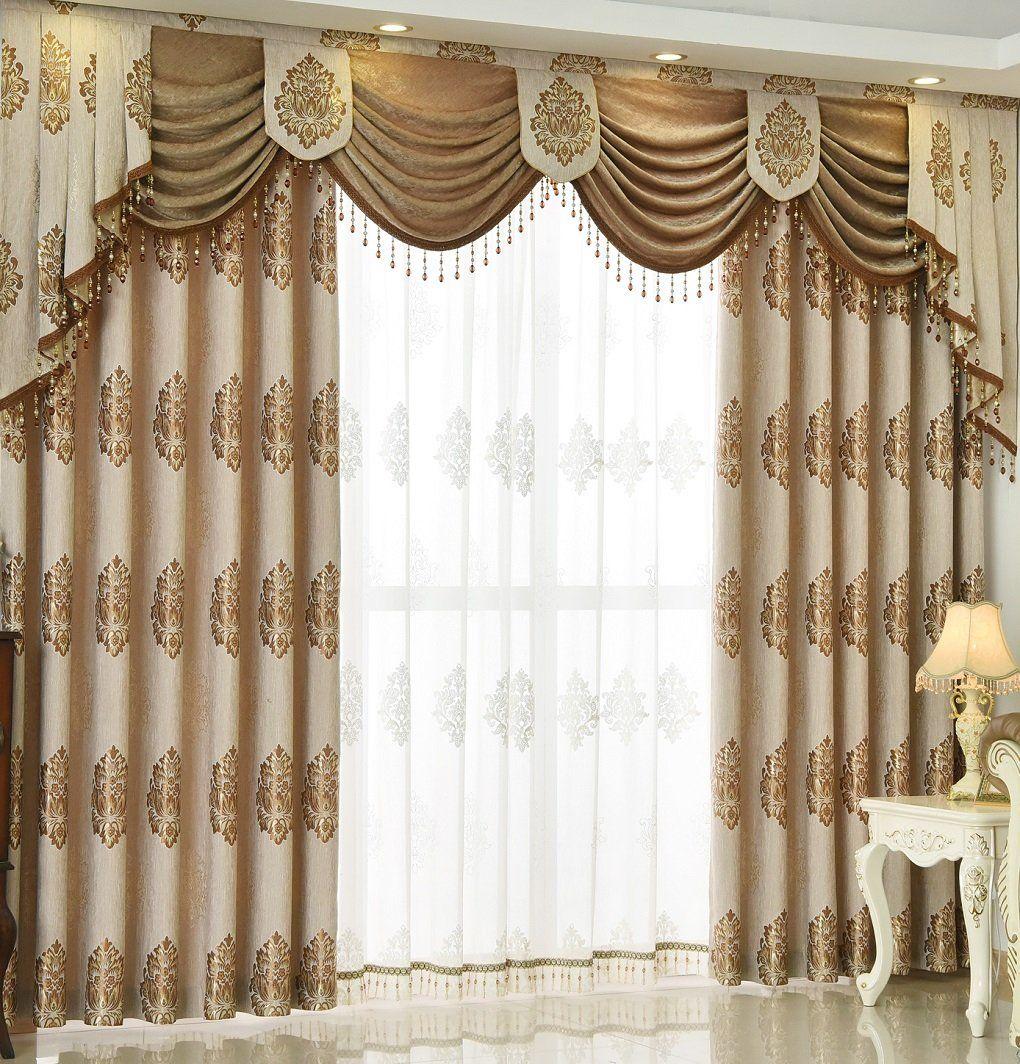 Luxury window coverings  queens house luxury window curtain living room drapes Ãu  read
