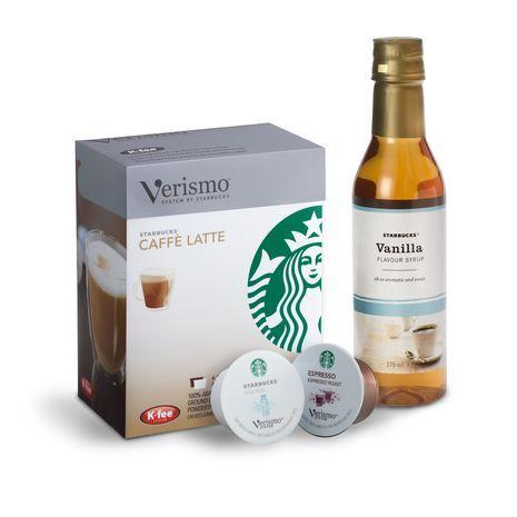 Ensemble pour Latte Vanille Verismo™. 10,89 € at StarbucksStore.com