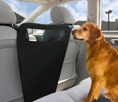 Nice Auto Pet Barrier Blocks Dogs Access To Car Front Seats Keep