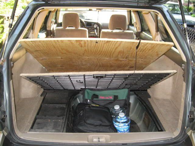 Subaru Camping Full Set Up Expedition Portal Road