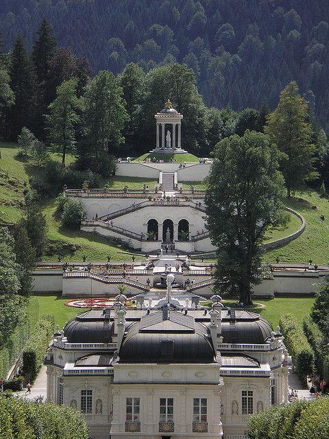 Schloss Und Park Linderhof Bavaria Germany Germany Castles Vacation Locations Dream Vacations