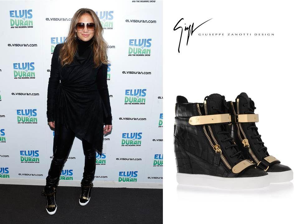 26620a875927a Giuseppe Zanotti Shoes, Zanotti Heels, Celebrity Style, Jennifer Lopez,  Sneakers, Trainers
