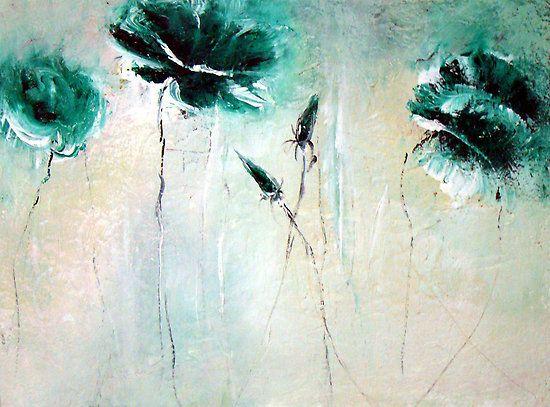 """Rich greens"" by Anivad - Davina Nicholas"