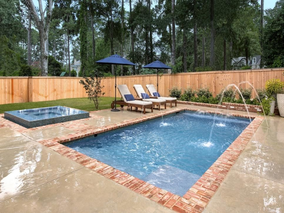 Effortless Outdoor Entertaining Cocktail Pools Are Perfect For Entertaining In Small Spaces A Pools Backyard Inground Pools For Small Yards Small Pool Design