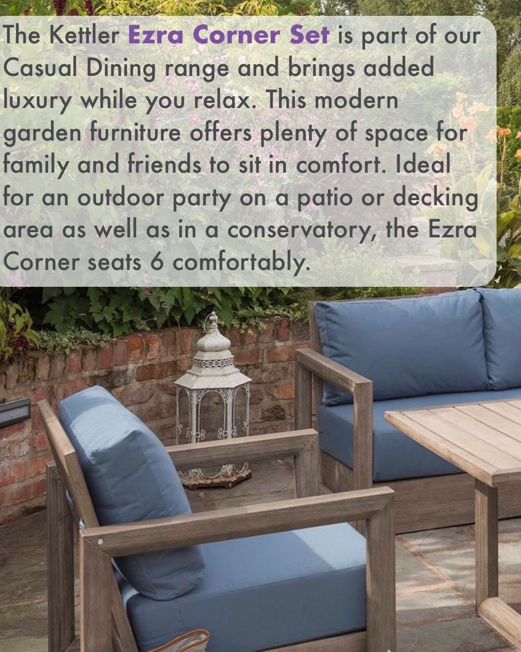 Perfect For Indoors Out Here At Oaktree We Offer Support Every Step Of The Way From Free U With Images Modern Garden Furniture Garden Furniture Garden Furniture Sets