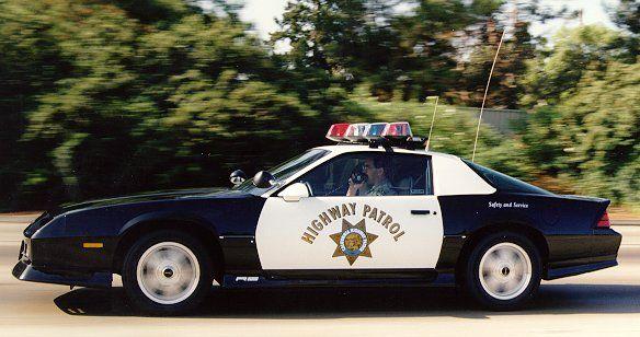 California High Patrol Old Police Cars Police Cars Chevrolet Camaro