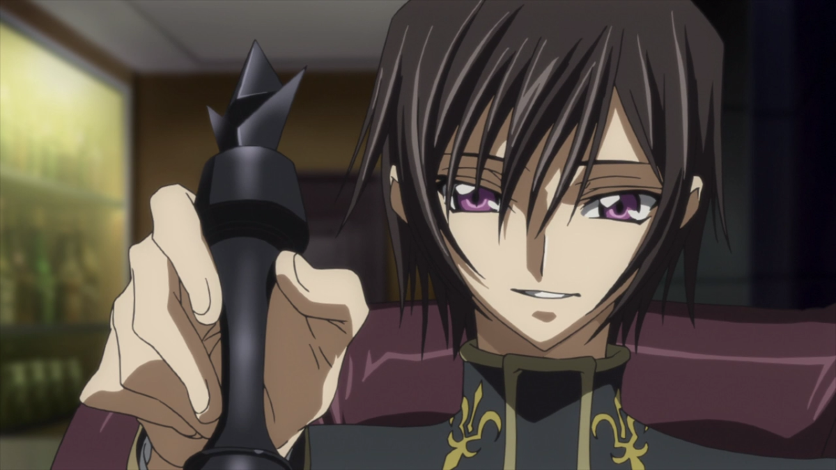 The Power of the King Code geass, Lelouch lamperouge, Anime