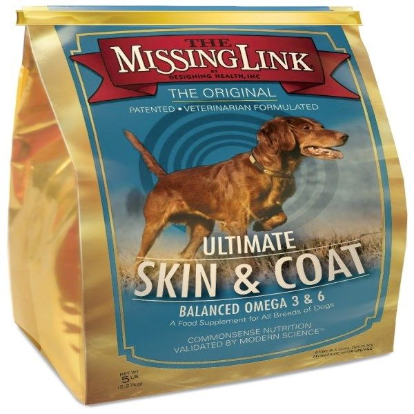 The Missing Link Ultimate Skin Coat For Dogs 5 Lbs 2 27 Kg Discontinued Item With Images Dog Supplements Puppy Supplies Puppy Accessories