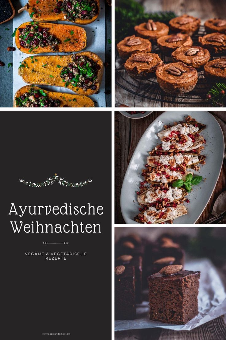 Ayurvedische Weihnachten - leckere und gesunde Rezepte für die ganze Familie | Apple and Ginger