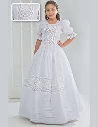 Vestidos de primera comunion bordados
