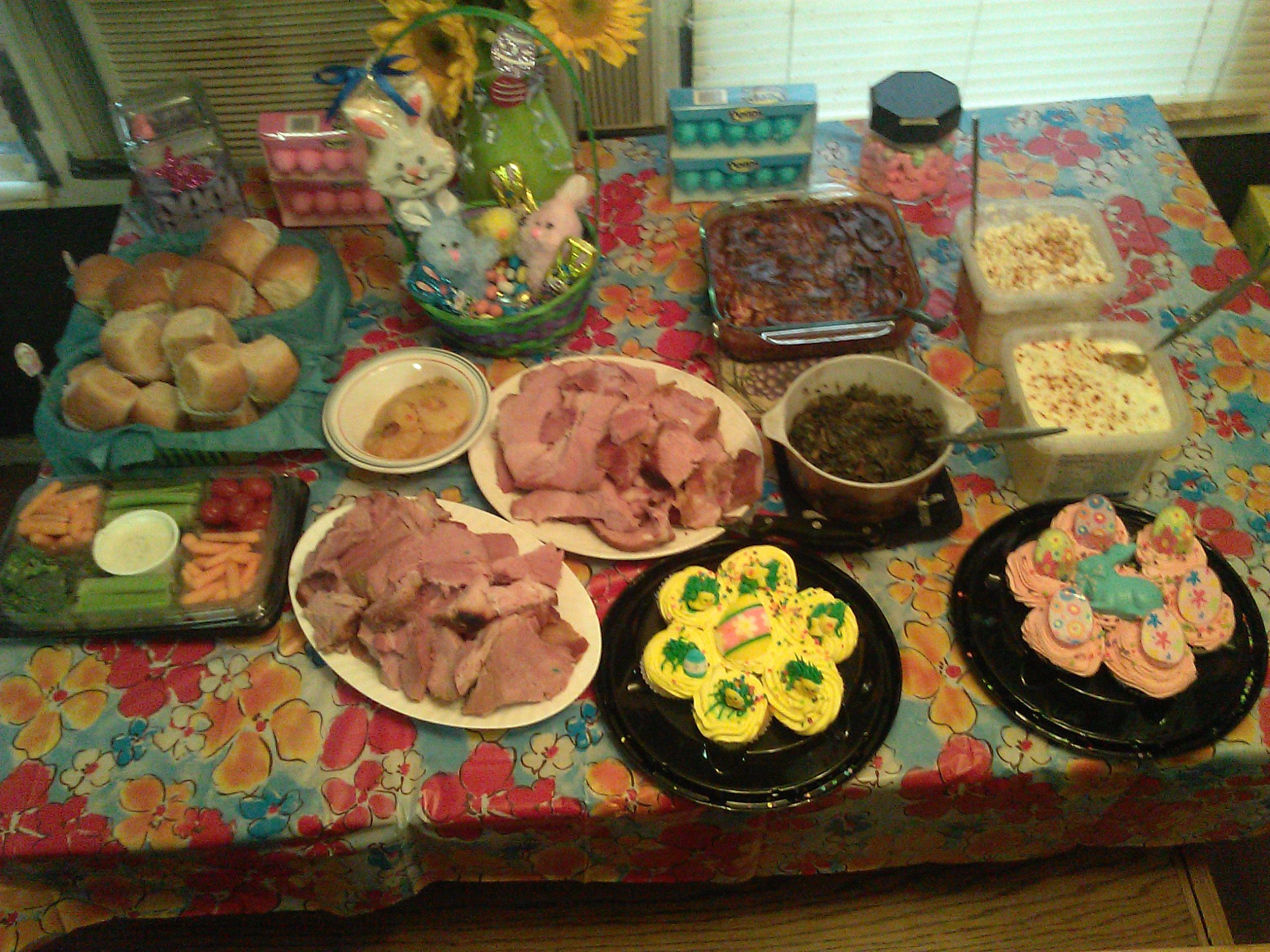 Easter dinner southern style holiday ideas pinterest for Non traditional easter dinner ideas