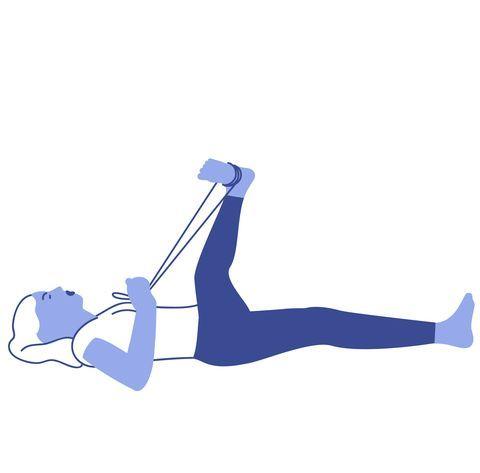 IT Band Stretches: Deep Lumbar Rotation