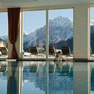 Tolle Aussicht!  Bella Vista Hotel Emma - St. Vigil, Südtirol,  Italien