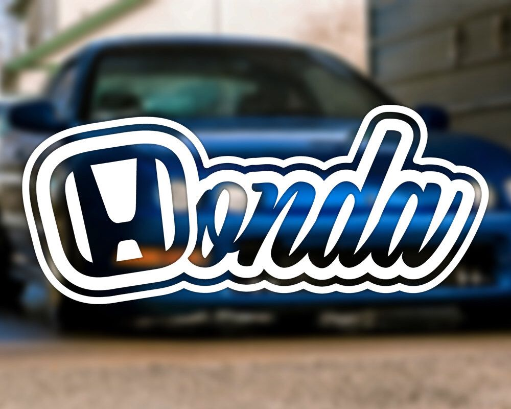 Honda Jdm Decal For Cars Laptops Tablets Binders Water Bottles By Pnwdecals On Etsy Https Www Etsy Com Honda Cars Honda Civic Hatchback Honda Civic [ 800 x 1000 Pixel ]