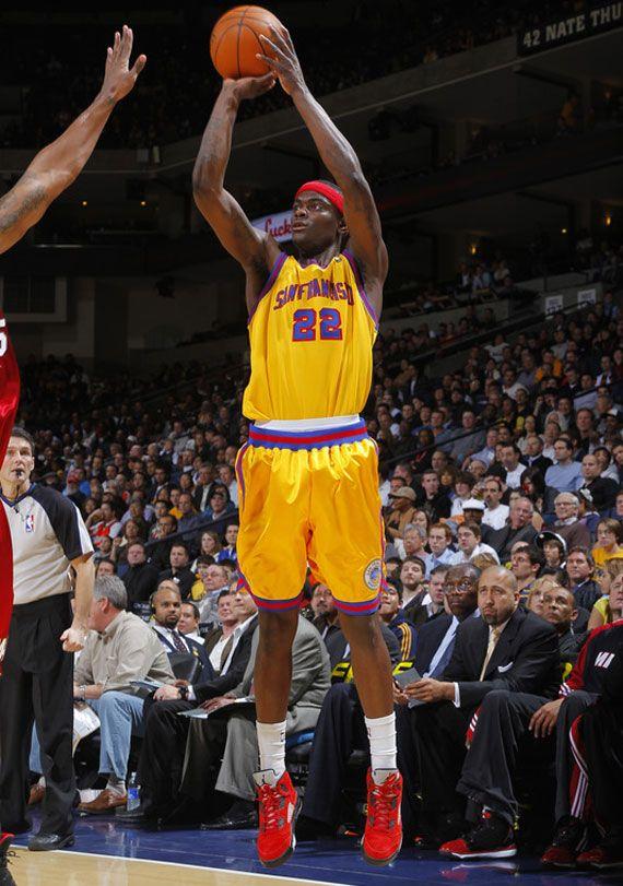 2247724385b NBA Hardwood Classics 2009-10, Anthony Morrow, Golden State Warriors ...